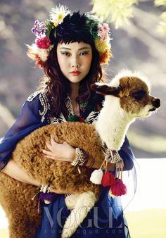 magical llama 페루 민속 의상과 패션 트렌드의 조우 :: VOGUE.com
