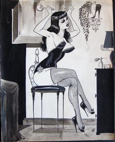honey-rider: Gene Bilbrew EXOTIQUE #5 1957At... | Raiders of the Lost Tumblr