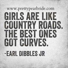 Motivation Mondays: Curvy Girls and Country Roads | The Pretty Pear Bride - Plus Size Bridal Magazine