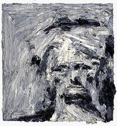 Head of e.w IV - frank auerbach Frank Auerbach, Galerie D'art Moderne, Pop Art, Gallery Of Modern Art, Art Brut, Plastic Art, City Scene, Art Database, Figure Painting