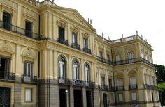 Fachada Museu Nacional - UFRJ - Paço de São Cristóvão - Wikipedia, the free encyclopedia