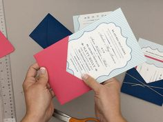 Wedding hack: turn envelope into invitation pocket | Download & Print