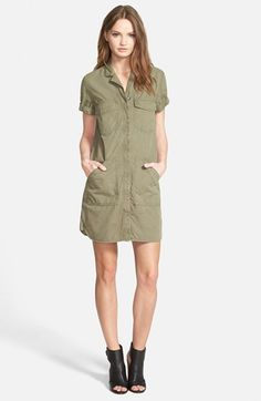 J Brand 'Kona' Utility Dress available at #Nordstrom
