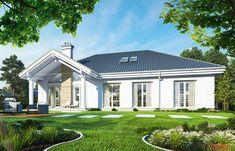 Красивый дом с большим гаражом и с чердачным помещением S8-227-5 (Дом на Парковой). Визаулизация 2. Shop-project