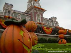 2015 Fall and Halloween Events at Walt Disney World