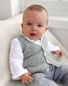 Baby Boy Knit Waistcoat Sweater Newborn to all by TanyasBunnyTots