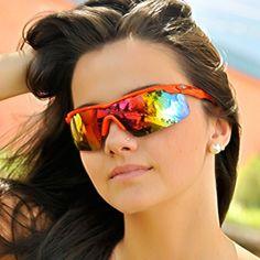 Óculos Mormaii Athlon Grilamid Médio Laranja com Prata Espelhado Unissex 01a147b3aa
