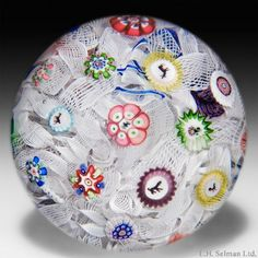 Baccarat (antique) Paperweights Antique 1848