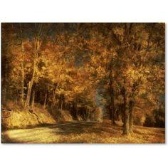 Trademark Fine Art Back Roads Canvas Art by Lois Bryan, Size: 22 x 32, Multicolor