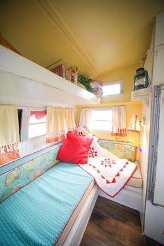 Vintage camper interior                                                                                                                                                                                 More