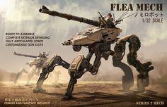 Flea mech by eddie-mendoza.deviantart.com on @DeviantArt