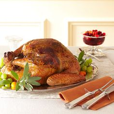 Sage Orange Turkey and White Wine Gravy Recipe - Good Housekeeping