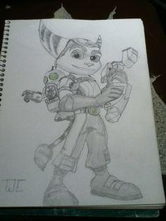 Ratchet & Clank Art