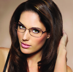 Modern Art Eyewear Collection, by Modern Optical International.  Elegant, sophisticated, chic.  Style: A363