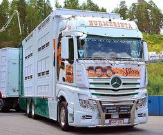 Mercedes Benz Trucks, Bull Bar, Finland, Europe, Vehicles, Instagram, Graphics, Paint, Cars