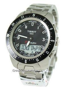 fd10cd61e94 Tissot T-Touch Expert Pilot Analog-Digital T013.420.44.057.00  T0134204405700 Mens Watch
