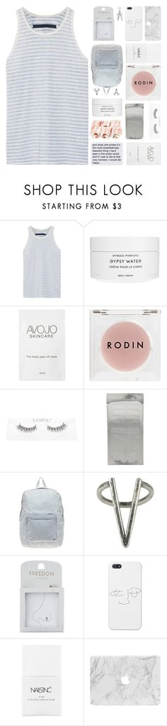 """I KNOW THIS GAME"" by constellation-s ❤ liked on Polyvore featuring Enza Costa, Byredo, Rodin, American Apparel, The 2 Bandits, Topshop, Nails Inc., unicorntags and philosoqhytags"