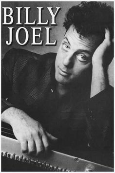 Billy Joel Piano Man Music Poster 12x18