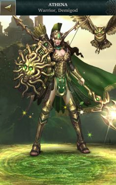 f Athena Warrior Demigod Fantasy Heroes, New Fantasy, Fantasy Castle, Beautiful Fantasy Art, High Fantasy, Medieval Fantasy, Fantasy Girl, Fantasy Characters, Greek Goddess Art