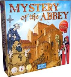 Mystery of the Abbey with The Pilgrims' Chronicles | Board Game | BoardGameGeek