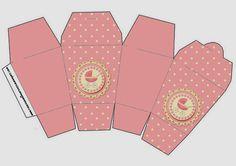 Cochecito Rosa: Cajas para Imprimir Gratis.