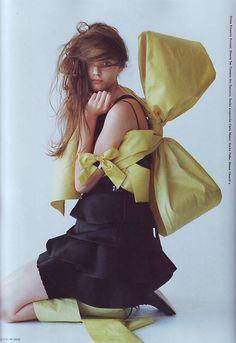 Photographed by. Tim walker, I-D magazine November 2007, Model Masha Tyelna
