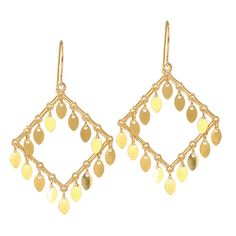Ebay NissoniJewelry presents - 14K Yellow Gold Shiny Open Square Shape Earrings    Model Number:ER3038    http://www.ebay.com/itm/14K-Yellow-Gold-Shiny-Open-Square-Shape-Earrings/221630571886
