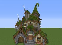 Villa Minecraft, Château Minecraft, Architecture Minecraft, Casa Medieval Minecraft, Construction Minecraft, Minecraft Mansion, Minecraft Cottage, Minecraft Structures, Minecraft Crafts