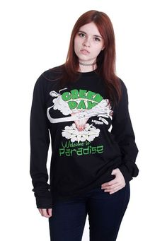 Green Day - Welcome To Paradise - Longsleeve