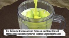 Avocado-Orangen Smoothie - Rezept von Joes Cucina Verde Avocado Smoothie, Engagement Ring Cuts, Pudding, Desserts, Smoothies, Food, Fitness, Smoothie Recipes, Almond Milk