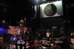 #yamecanse zocalo Gobierno Farsante que Asesina Estudiantes