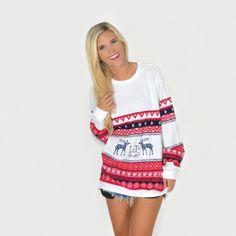Lauren James Christmas Sweater Tee | The Ultimate Christmas Gift Guide
