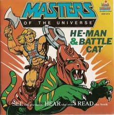 Masters of the Universe He-Man & Battle Cat