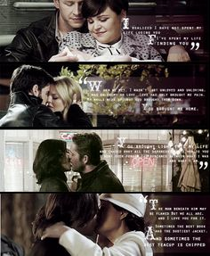 I loved Belle and Rumple's vows and how it fit with the other stories too...So lovely and well-written. <3