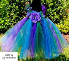 Baby Peacock Tutu Dress by tiny toes bowtique on Etsy, $45.00  www.facebook.com/tinytoesbowtique2010