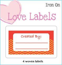 Orange Lovelabel Created by