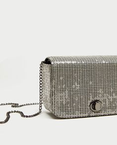 d2067473cd Image 4 of PRINTED CROSSBODY BAG WITH SEQUINS from Zara