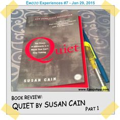 Quiet by Susan Cain - Book Review, Part 1 ⋆ Emojo Share My Life, Introvert, Book Review, Learning, Words, Blog, Studying, Blogging