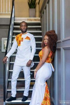 The most beautiful couples rock the most beautiful Latest Native Styles For Couples. These are the best collection of Latest Native Styles For Couples in 2108 Couples African Outfits, African Dresses Men, Latest African Fashion Dresses, Couple Outfits, African Print Fashion, African Prints, Couple Clothes, African American Fashion, Family Outfits