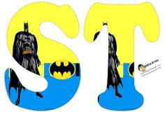 Batman Birthday, Batman Party, Lego Batman, Superhero Party, Superhero Letters, Banner Letters, Superhero Logos, Spiderman Images, Batman Arkham Origins