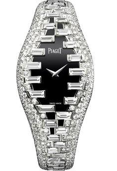 Piaget platinum and diamond ladies watch Luxusné Hodinky 631512d8806