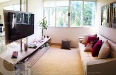 Apartamento 2 Quartos Decorado Terra Mundi Parque Cascavel - Sala de TV