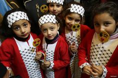 GAZA CITY, GAZA- The Palestinian Heritage Exhibition on the theme ''Products of our women' kicked off this week in Palestine