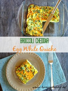 Simple, high protein and cheesy this spicy broccoli cheddar quiche is a healthy breakfast option or snack anytime!