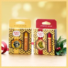Our Burt's Bees Basics Gift Sets include four dynamic duos, featuring either our Lemon Butter Cuticle Cream or our Hand Salve. Each set also comes with a luscious lip balm (of course!). Perfectly natural gifts to stuff in every stocking. $5.00 http://burtsbe.es/RTJqgJ