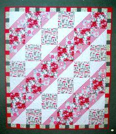 Yuletide Greetings Quilt Kit Bella Rose, Quilt Kits, Seasons, Quilts, Blanket, Quilting Ideas, Fun, Noel, Fin Fun