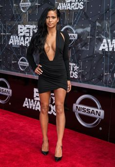 Pin for Later: These BET Awards Looks Are Guaranteed to Make Your Jaw Drop Cassie Cassie was supersexy in a very low-cut black minidress.