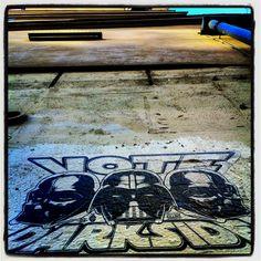 Darkside #streetart #paris ©RR
