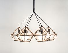 Rough Diamond Chandelier by Ben-Tovim Design