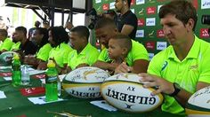 The Blitzbokke gave the Capetonians an opportunity to meet the players at a signing session at the V&A Waterfront. V&a Waterfront, World Rugby, Rugby Sevens, The V&a, Cape Town, Opportunity, Meet